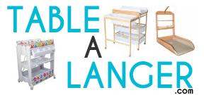 Trouver et acheter la meilleure table a langer en vente